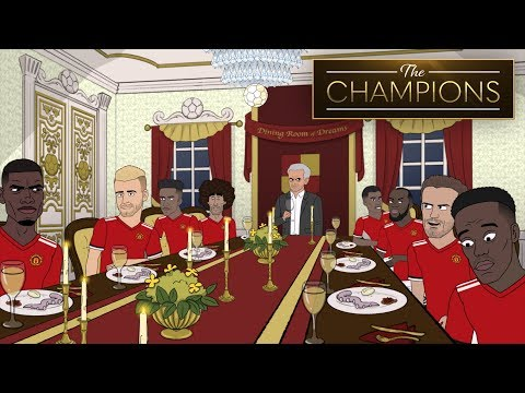 Jose Mourinho Proves All Is Fine At Manchester United | The Champions S1E3