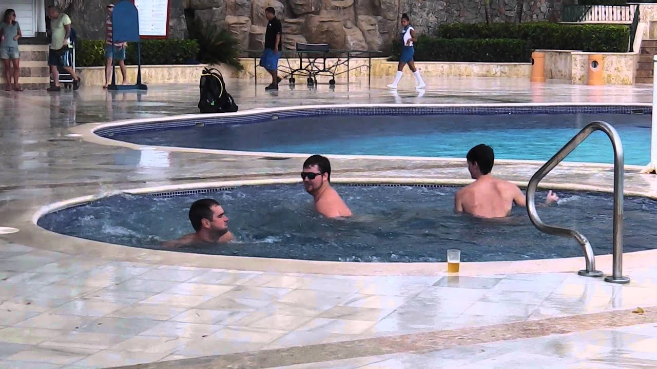 Whirlpool in the Hot Tub - YouTube