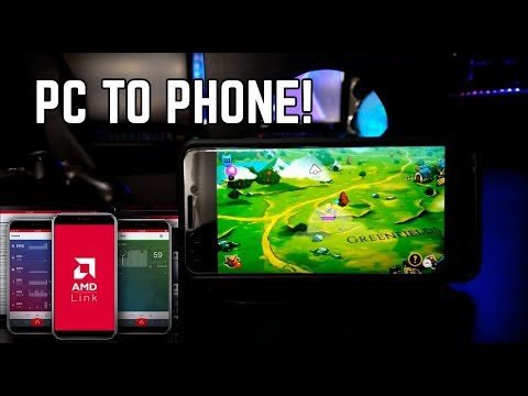 AMD Link - Game Streaming Set Up - Review