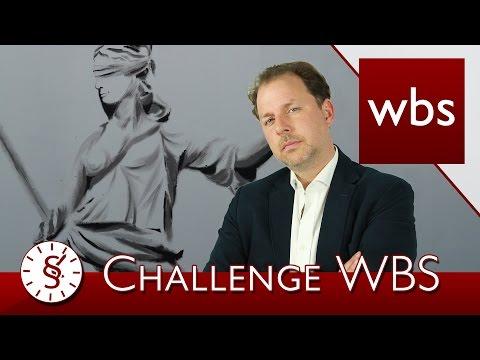 Challenge WBS: Aufzeichnung von Anrufen, Justitia, minderjährige Schauspieler | Kanzlei WBS