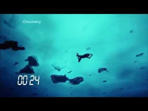 Single Breath 76 meter swimming world record breaking