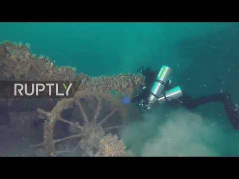 Russia: Archaeologists explore sunken treasure-trove near Crimea