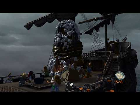Lego Pitares of The Caribbean  The Maelstrom  Free Play All Secret