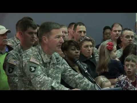Welcome Home Ceremony for Fort Campbell's 2nd Brigade Combat Team, Strike