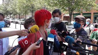 """Induráin dice que """"no hay transmisión comunitaria"""" de Covid en Navarra"""