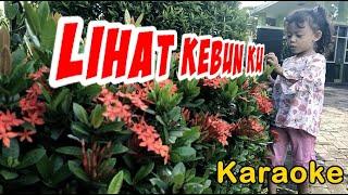 lihat kebunku   lagu anak tanpa vocal   karaoke -no copyright
