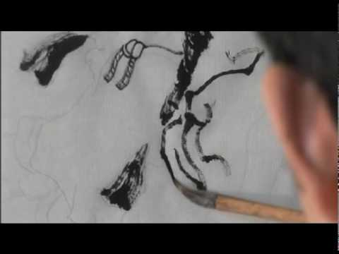 Drawing Techniques - Chinese Figure Painting (part...