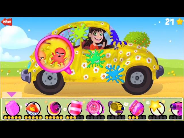 Autos Waschen für Kinder - Android Spiel von Google Play