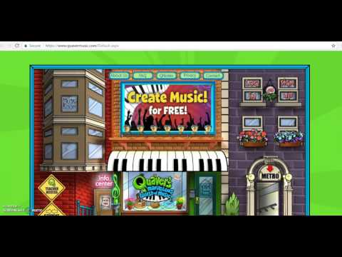 Logging in to Quaver Music
