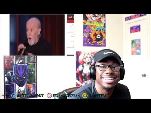 George Carlin - People are Boring REACTION! NO LIE PEOPLE ARE BORING