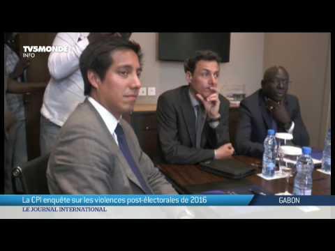Gabon : La CPI enquète sur les violences post-électorales de 2016