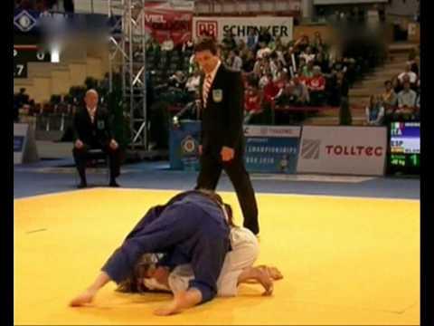 Europeus Judo Combate pelo Bronze -48 Kg 1/2