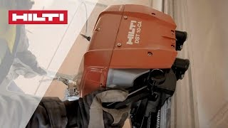 INTRODUCING the Hilti DST 10-CA Wall Saw System