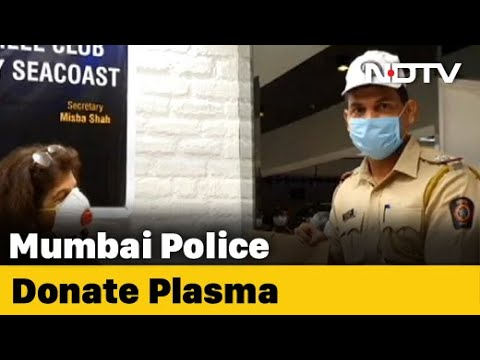 Mumbai Cop Whose Mother Died Of COVID-19 Among 7 To Donate Plasma