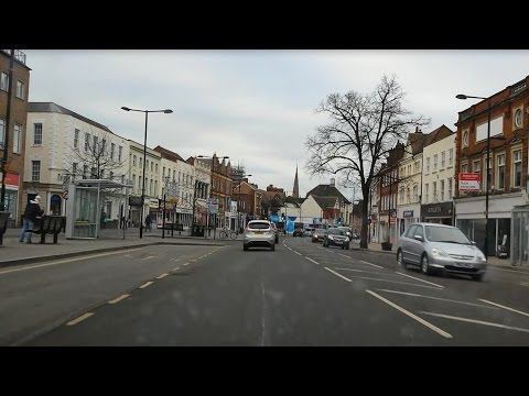 Worcester Hospital to Evesham by Car - 10th March 2016