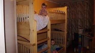 Двухъярусная детская кроватка своими руками. Часть 1. Сборка.(, 2015-10-19T17:54:51.000Z)