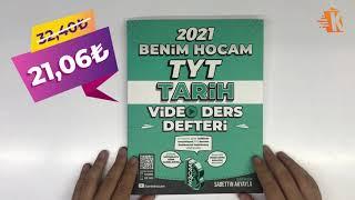 Benim Hocam Yayınları 2021 TYT Tarih Video Ders Defteri - Sadettin Akyayla