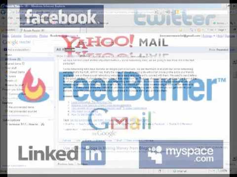 Creating an RSS Feed With Feedburner