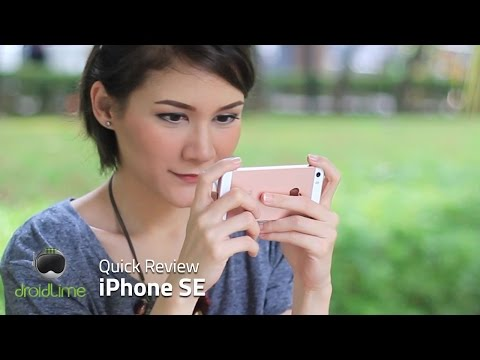 Apple iPhone SE Quick Review