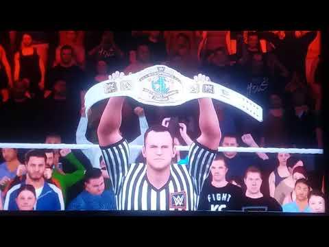 ROMAN RIEGNS VS SAMOA JOE (Intercontinental championship match) thumbnail