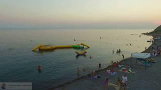 Сукко центральный пляж с квадрокоптера
