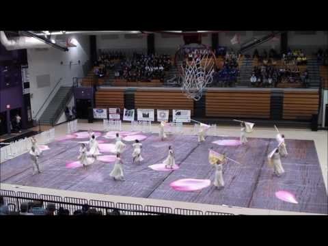 "White Knoll High School Winter Guard 1/28/2017 ""Last Love Song"""