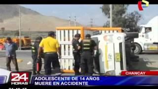 Huaura: exgobernador del distrito de Végueta falleció en violento accidente