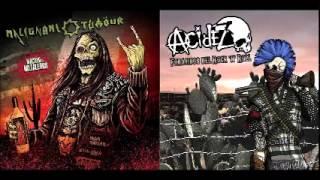 Acidez - Malignant Tumour - Nación De Metaleros - Forajidos Del Rock And Roll - Split