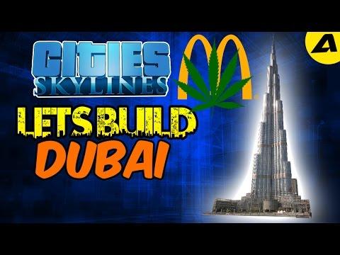 Lets Build Dubai In Cities Skylines #1 l MCDONALD'S SELLS DRUGS!