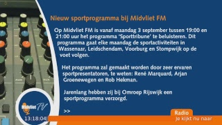 Live stream Midvliet TV