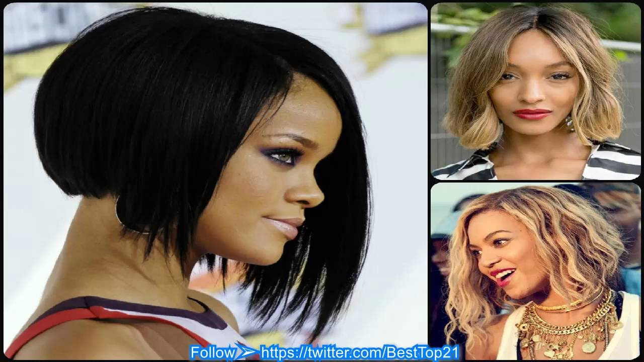 Bob Haircut For Black Women The Best In 2016 Youtube