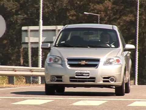 Routiere Test Chevrolet Aveo 1 6 Lt Aut Youtube