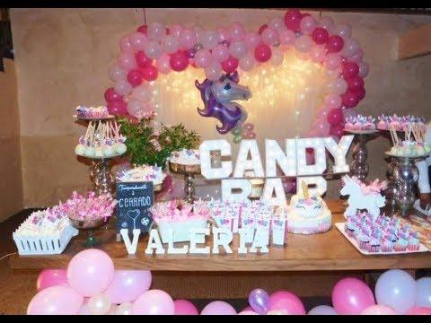 tendencia fiesta 15 a os unicornio decoraci n youtube