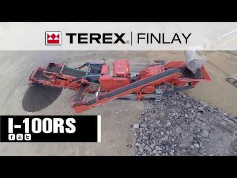 Terex Finlay I-100RS Impact Crusher | OPS Screening & Crushing