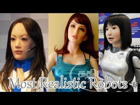 The Most Realistic Robots || Development Of Artificial Intelligence till 2018. Ep.02