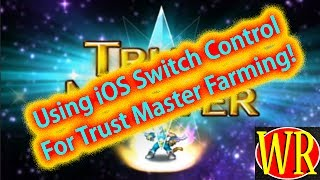 FFBE - TMR Farming with Switch Control Apple ios - for information only!!!!