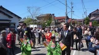 先日23日に那谷寺で行われました、1300年大祭の「稚児行列」です。 那谷...