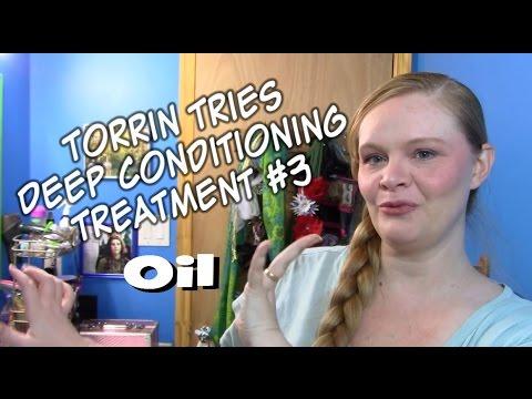Torrin Tries - Deep Conditioning Treatment #3 - Oil