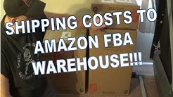 How Much Does It Cost to Ship to an Amazon FBA Warehouse???