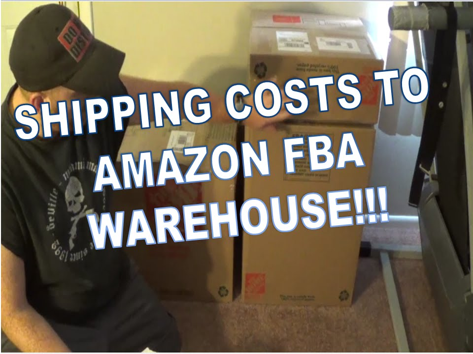 How much does it cost to ship to an amazon fba warehouse youtube