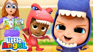 We Are Little Dinosaurs!   A Dinosaur Song   Little Angel Kids Songs