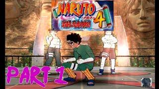 Naruto: Gekitou Ninja Taisen 4 Competitive 3-Man Teams Vs Saige Part 1