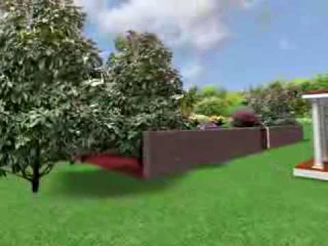 Landscaping design ideas french provincial garden youtube for French provincial garden designs