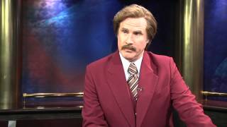 Ron Burgundy Interview - KX News
