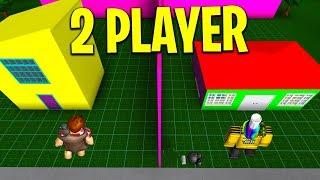 2 PLAYER ROBLOX BLOXBURG BUILD MODE! NUOVO