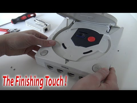 Sega Dreamcast SD MODDING !! 😬... Finishing Touch !