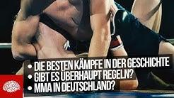 Fakten über MMA - Was ist eigentlich MMA?