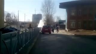 В Екатеринбурге на ВИЗе сорвало гидрант