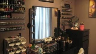 Koko's Diva Space (vanity Tour) + Storage Ideas
