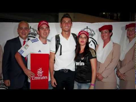 Lucky fan meets his heroes | Real Madrid | Emirates Airline